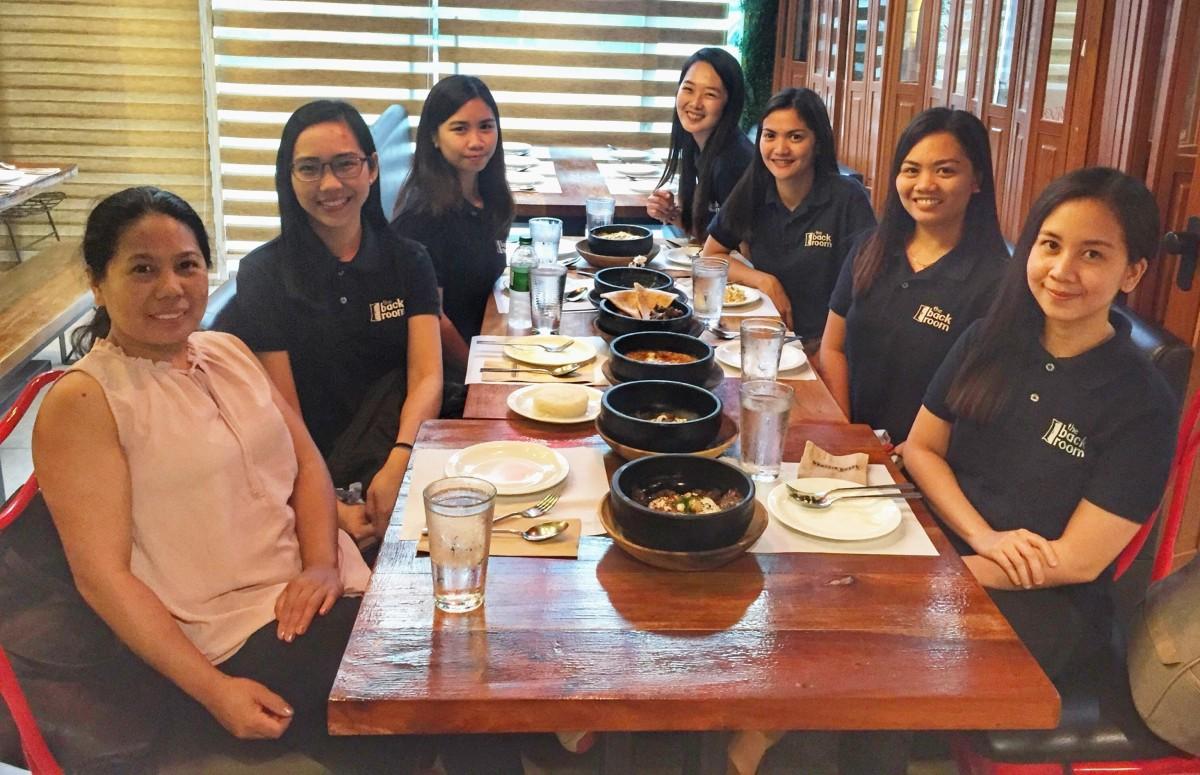 Alliot Team Dinner